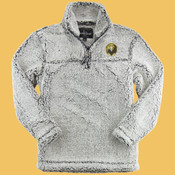 Falcons - Q10-PF - Unisex Sherpa Quarter-Zip Pullover