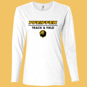 Track & Field - 884L-PF Anvil Ladies' Ringspun Long-Sleeve T-Shirt