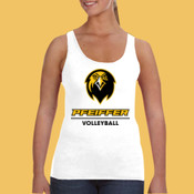 Volleyball - 882L-PF Anvil Ladies' Lightweight Tank