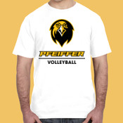 Volleyball - 980-PF Anvil Ringspun Lightweight T-Shirt