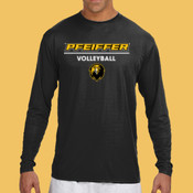 Volleyball - N3165-PF A4 Long-Sleeve Cooling Performance Crew Neck T-Shirt