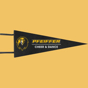 Cheer & Dance - Wool Pennant Flags