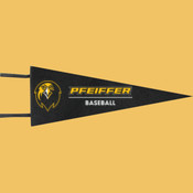 Baseball - Wool Pennant Flags
