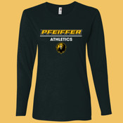 Athletics - 884L-PF Anvil Ladies' Ringspun Long-Sleeve T-Shirt
