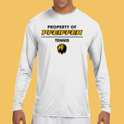 Tennis - N3165-PF A4 Long-Sleeve Cooling Performance Crew Neck T-Shirt