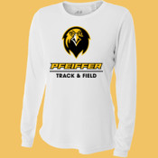 Track & Field - NW3002-PF A4 Ladies' Long Sleeve Cooling Performance Crew Shirt