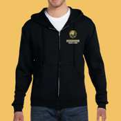 Track & Field - 82230-PF Fruit of the Loom 12oz. Supercotton™ 70/30 Full-Zip Hood
