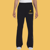 Volleyball - 974MP-PF Jerzees 8oz., 50/50 NuBlend® Open-Bottom Sweatpants