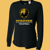 Volleyball - NW3002-PF A4 Ladies' Long Sleeve Cooling Performance Crew Shirt