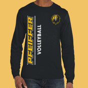 Volleyball - 949-PF Anvil Ringspun Long-Sleeve T-Shirt