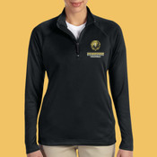 Volleyball - DG440W-PF - Ladies' Stretch Tech-Shell® Compass Quarter-Zip