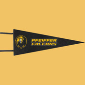 Falcons - Wool Pennant Flags
