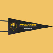 Softball - Wool Pennant Flags