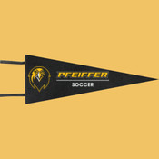 Soccer - Wool Pennant Flags