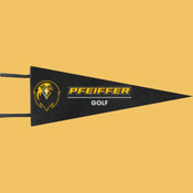 Golf - Wool Pennant Flags