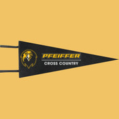 Cross Country - Wool Pennant Flags